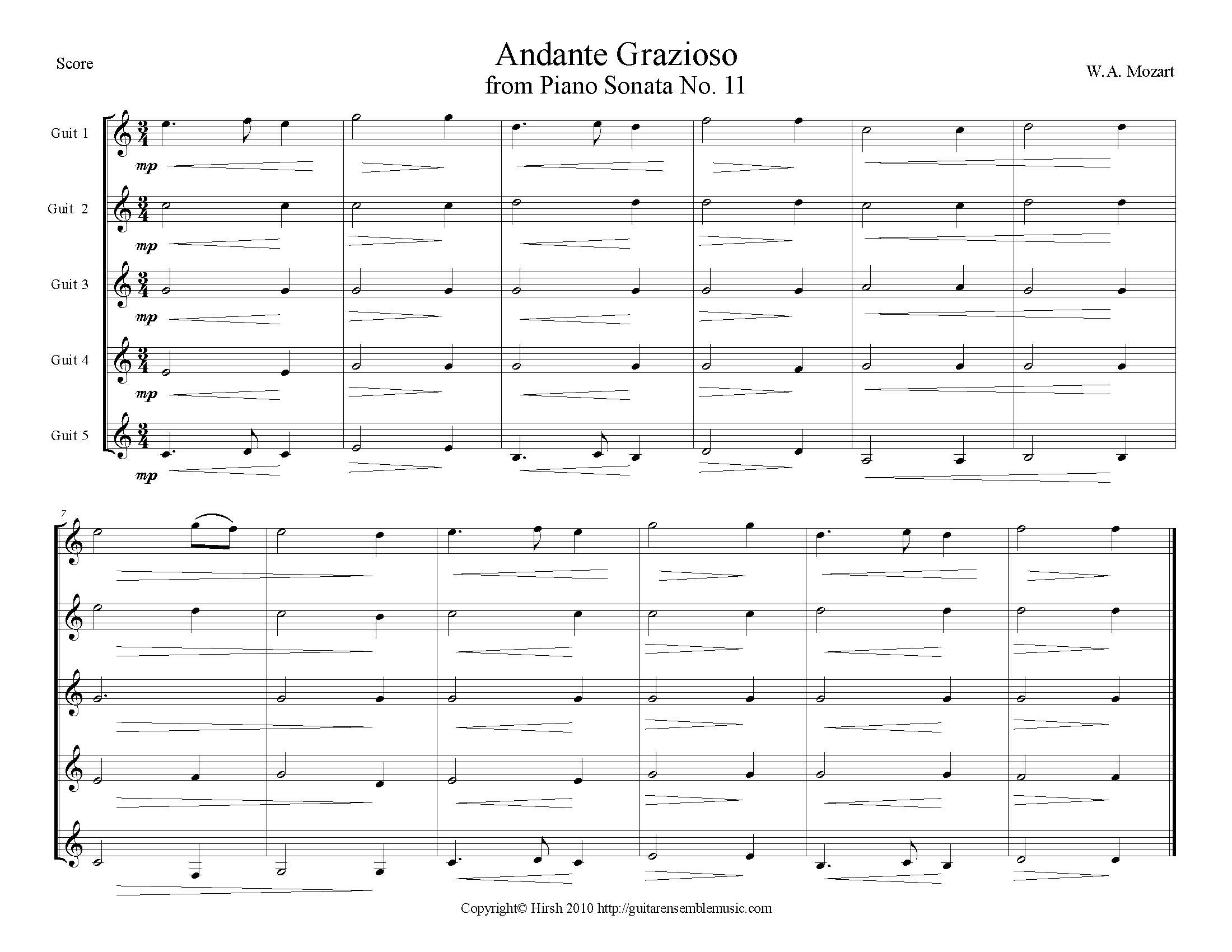 More Notated Music like this